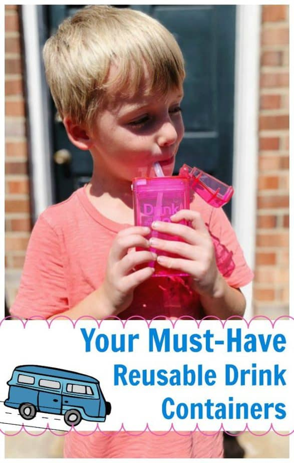 must have reusable drink containers pin