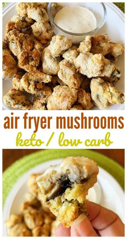air fryer mushroom pin