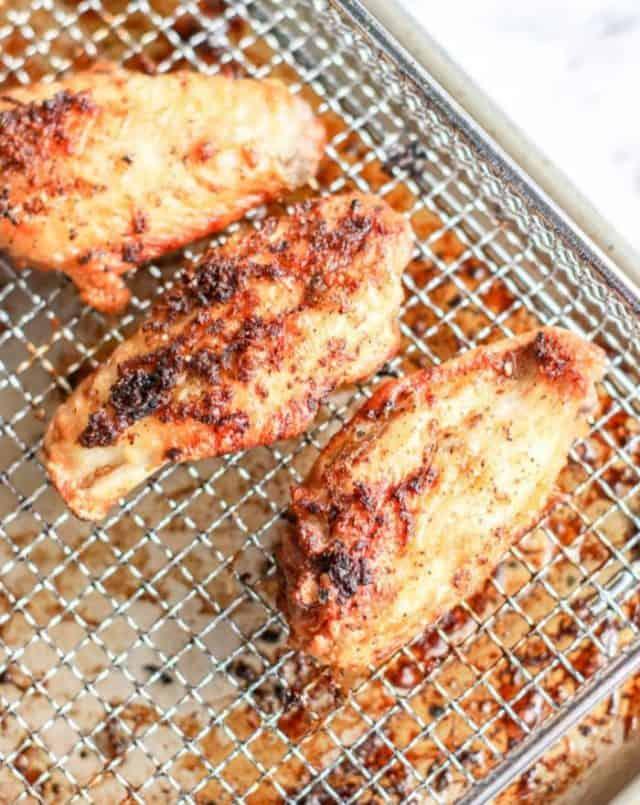 air fried lemon pepper wings