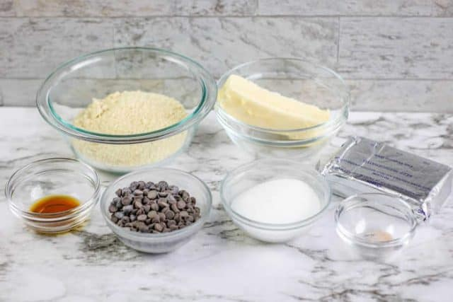chocolate cookie dough fat bomb ingredients