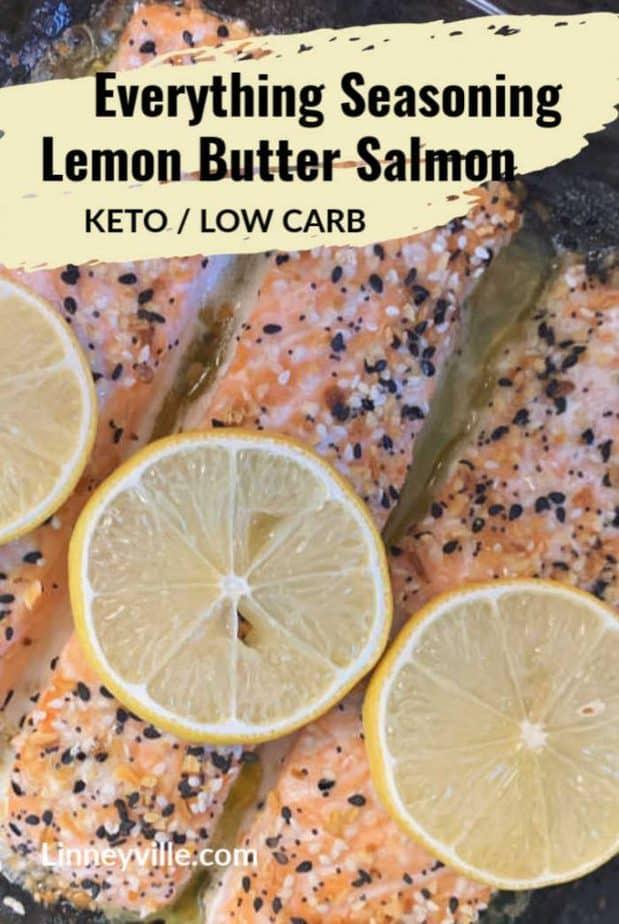 everything lemon butter salmon pin1