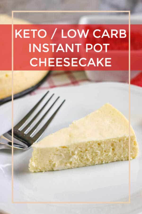 low carb cheesecake pin