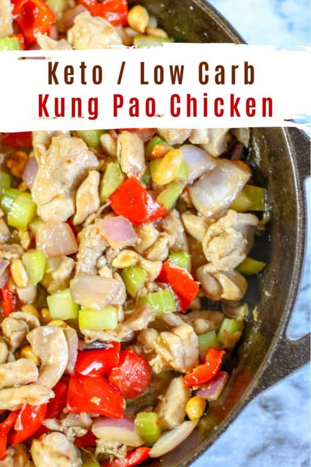 kung pao chicken low carb pin