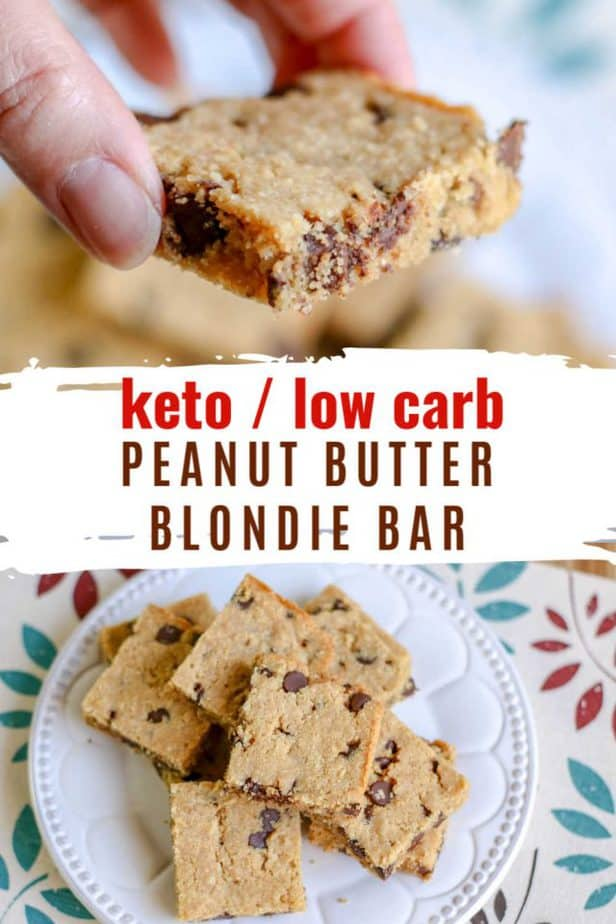 peanut butter blondie bar pin